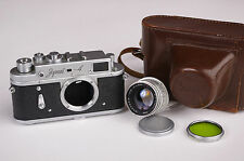 Zorki 4 Kleinbildmesssucherkamera Sorkiy-4 russischer Leica-Kamera-Nachbau