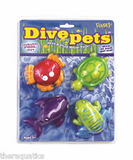 DIVE PETS Sealife Pool Game Dive Training Underwater Learn To Swim Easy PDP-1