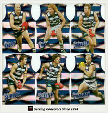 2010 Select AFL Champions Holofoil Jersey Die Cut Card Team Set (12)-Geelong