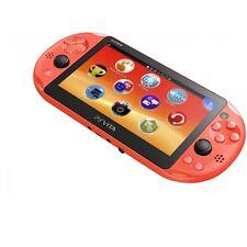 SONY Playstation Vita PSV 2000 WiFi Console Neon Orange 3.6 CN *VGC*+Warranty!