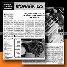 ★ MONARK 125 (Moteur SACHS) ★ 1972 Essai Moto / Original Road Test #b23