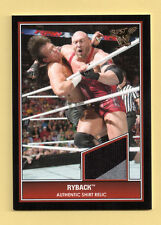 Ryback 2013 Topps Best of  WWE Shirt Relic Card 2 color Black/Silver