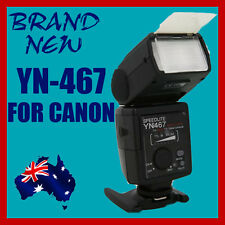 Free Diffuser+YONGNUO TTL Flash Speedlite YN-467 for Canon DSLR 60D 600D 5DII