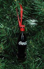 Coke, Coca Cola Glass Bottle Christmas Ornament