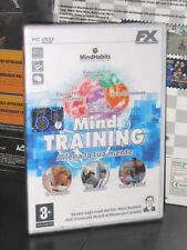 MIND TRAINING ALLENA LA TUA MENTE GIOCO PC DVD NUOVO