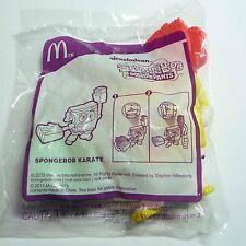 McDONALDS Spongebob Squarepants KARATE Sports Game Toy Kids MINT Malaysia 2013