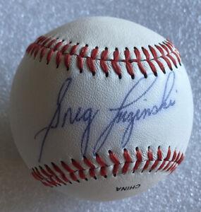 Greg Luzinski Autographed Rawlings Little League Baseball Memorabilia Collection