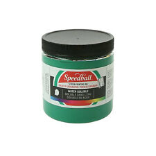 Speedball Water Soluble Screen Printing Ink Green 8oz