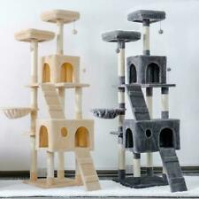 Pet Cats Tree House Condo Perch Entertainment Playground Stable Furniture for