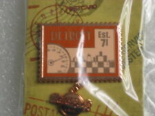 DETROIT,Hard Rock Cafe Pin, Retro Stamp I Was Here