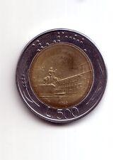 Repubblica Italiana 500 lire 1982 Bicolore bimetallico acmonital  bronzital   BB