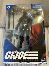 "G.I. Joe Classified Series Snake Eyes 6"" Action Figure Wave 1 Hasbro - In Stock"