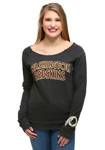 Women's Washington Redskins NFL Junk Food Champion Fleece Sweatshirt XL NEW