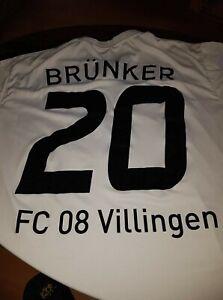 Matchworn Trikot - Kai Brünker - FC 08 Villingen, aktuell FC Magdeburg - Charity