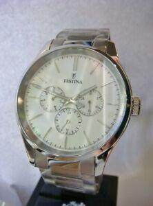 New FESTINA Boyfriend Men's Watch Stainless Steel F16810/1