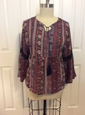new directions 3x Boho Hilo Blouse