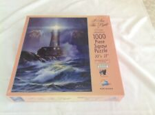 Sunsout I Am The Light 1000 Piece Jigsaw Puzzle Lighthouse Ocean Danny Hahlbohm