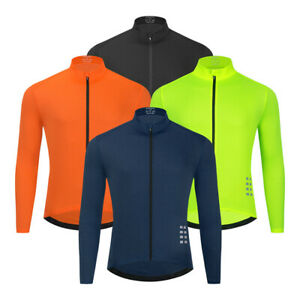 Men Cycling Long Sleeve MTB Jersey Quick Dry Breathable Jersey Maillot Ciclismo