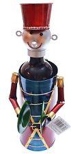 Flaschenhalter Weinflaschenhalter aus Metall Musiker Flaschenständer bunt