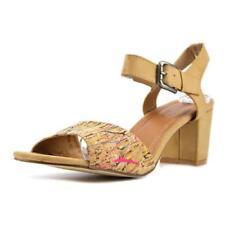 Sandalias y chanclas de mujer Spring Step de tacón medio (2,5-7,5 cm) de color principal beige