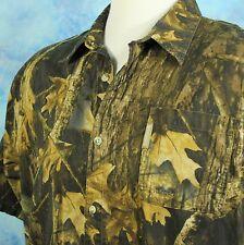 Columbia Timberwolf Camo Mens XXL Vented Shirt Hunting Shooting Archery 2XL