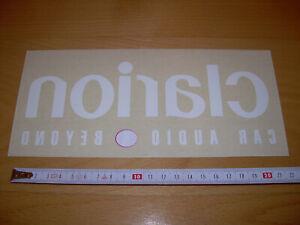 Pegatina - Clarion  21,5 x 8 cm - Sticker Para pegar por el interior del cristal