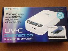 UV-C Disinfection Box with Diffuser function. Mobile / Jewellery bacteria killer