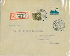 AVIATION Postal Hitory Cover: NORWAY - interesting piece! 1933
