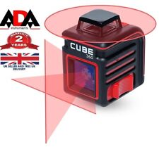 LASER LEVEL 360° Horizontal Self Leveling Cross Line rotary measure ADA CUBE 360