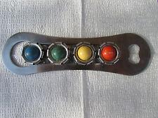 """Bottle opener and bottle caps """"Traffic light"""". the USSR"""