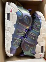 New Nike Air More Uptempo GS Shoes Sneakers 922845 500 6.5Y Womens 8