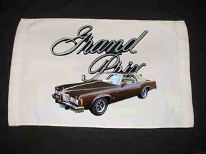 NEW Pontiac Grand Prix Hand Towels Many to choose from! FREE SHIPPING!!