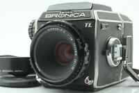 【 NEAR MINT 】 Zenza Bronica EC TL Body w/ Nikkor P.C 75mm f/2.8 Lens Japan #331