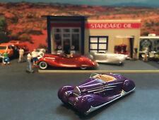 1:64 Hot Wheels Limited Edition 1939 39 Type 57C Bugatti Cabriolet Purple