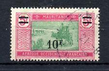 Mauritania (4928)  1924  10f on 5f  fine used Sg65
