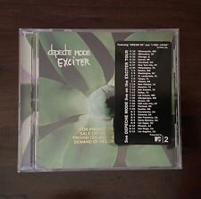 Depeche Mode Exciter CD - Rare Promo w/ Tour Dates Sticker