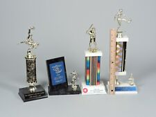 Trophies - 3 Soccer and One Baseball From 1990s