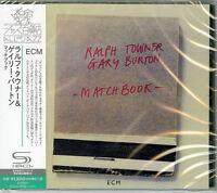 RALPH TOWNER-MATCHBOOK-JAPAN SHM-CD C94