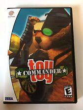 Toy Commander - Sega Dreamcast - Replacement Case - No Game