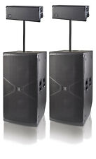DAS D.A.S. VANTEC 218A 4000W Subs w/ EVENT 218A Line Array Tops with mounts