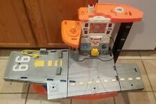 Fisher Price Rescue Heroes Aquatic Aircraft Carrier Command Center Ship