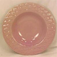 Royal Norfolk Lilac Basketweave Soup Cereal Bowl Stoneware