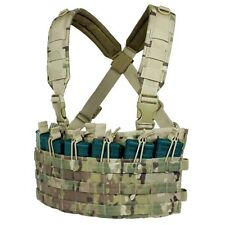 Condor Multicam 6 Pocket 5.56/.223 Tactical MOLLE Rapid Assault Chest Rig MCR6