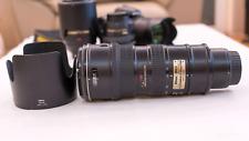 Nikon AF-S VR Zoom-Nikkor 70-200mm f/2.8G IF-ED + Blenda Nikon HB-29