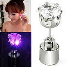 2pcs Unisex Fashion Light Up LED Bling Ear Studs Earrings Access For Party/Xmas