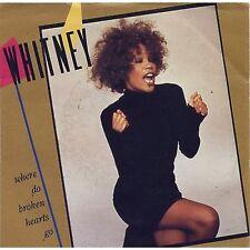 WHITNEY HOUSTON - Where do broken hearts go - 45 RPM 7