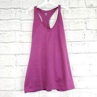 Alo Coolfit Womens XXL Purple Racerback Wourkout Yoga Tank Top Polyester Blend