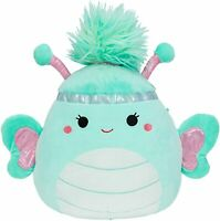 """Squishmallow Kellytoy 2020 Squish-DOOS 8"""" Reina The Butterfly Plush Toy"""