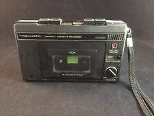 Vintage Realistic Compact Cassette Recorder Model 14-802 w/ Case