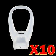 FLB10 MOTOROLA FINITI HZ800 LARGE EAR BUDS GELS TIPS BUD GEL TIP NUT NUTS 10PC
